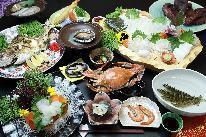 <GoToトラベルキャンペーン割引対象>【厳選フルコース】 日間賀島の海の幸を食い尽くす! 「海鮮Cプラン」ご宿泊・一泊夕朝食付き」