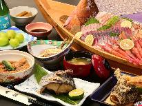 スタンダード♪旬の魚介舟盛り付き会席イチオシコース!