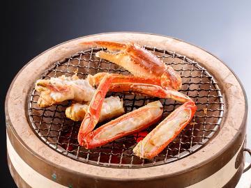 【公式HP特価】【冬の味覚】活ズワイガニ★フルコースプラン!!カニみそ甲羅焼きは絶品の一言。