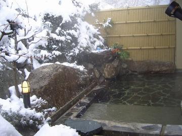 【公式HP限定価格】【冬季限定】清盛のお部屋をお得に泊まれる♪秘湯の湯西川で雪見の貸切温泉を楽しむ