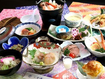 <GoToトラベルキャンペーン割引対象>【花の舞-hana-】 旬の素材をふんだんに盛り込んだ料理会席 お料理11品