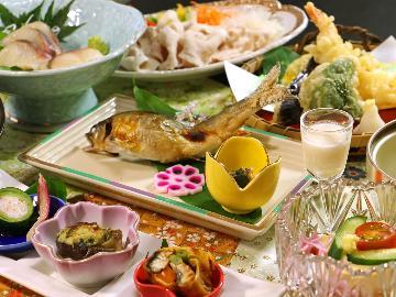 <GoToトラベルキャンペーン割引対象>【和-nagomi-】季節を味わう旬の地元食材の饗宴♪≪小会瀬スタンダードコース≫
