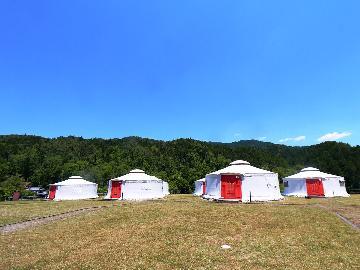◆公式HP限定3大特典付◆《素泊り》★3才以下幼児添い寝無料★モンゴル村で本場モンゴルの「ゲル」に泊まろう!!1名様~4名様まで連泊可能♪