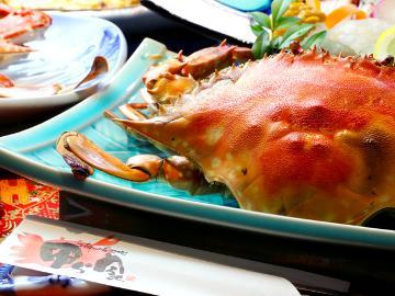 【季節限定!】今しか味わえない「蟹刺し」付カニフルコース【旬の味】