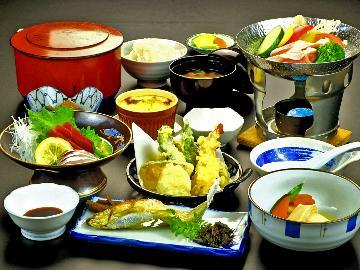 【スタンダード】上州の味覚たっぷり♪お部屋でゆっくり味わう料理と湯畑源泉の貸切風呂で楽しむ1泊2食