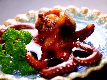 名物タコステーキと鯨亭自慢の味を召上れ♪海の幸会席★夕凪~Yuunagi~★