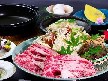 【梅コース】ファミリー応援♪リーズナブル和牛すき焼きプラン