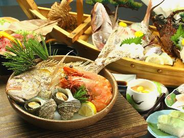 【松】くろ潮のおもてなし★全部乗せの豪華フルコース【一泊二食】