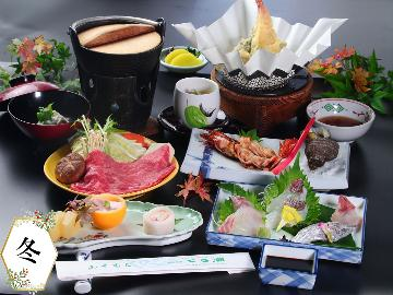 【梅】 旬のお魚満喫会席★地元の食材を堪能!【一泊二食】