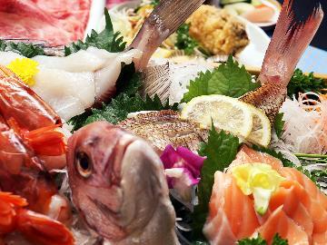 【茨城の幸!満喫!豪華船盛付】 新鮮海の幸をお腹いっぱい食べよう♪常陸牛でとあわせて満足!《民宿》 <GoToトラベルキャンペーン割引対象>