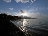 【一人旅★素泊まり】自然に囲まれた山中湖で気ままに撮影一人旅♪【平日限定】