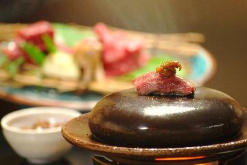 期間限定!「桜鯛と京たんくろ和牛プラン鮑付」