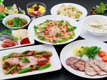 【ペットと旅の宿】当館の洋食創作料理を堪能☆ワンちゃんと過ごす大切なひとときを♪-2食付-