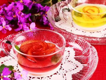 【特別期間限定】薔薇のクリスタルジェリー&グラスワイン特典付◆伊豆牛ステーキ-2食付-【特典付】