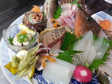 <GoToトラベルキャンペーン割引対象>☆朝獲れ鮮魚、地物刺身盛り・海の幸プラン