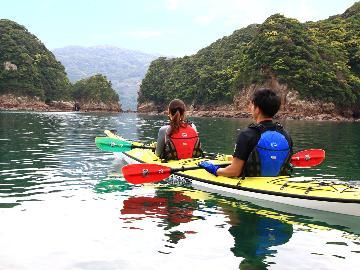 【アクティビティ】海と遊ぼう!シーカヤック体験♪澄んだ海で最高の爽快感を♪《2食付》