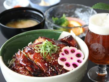 元気モリモリ阿波尾鶏丼&ご褒美クラフトビール1杯サービス!飲めない方は別ドリンク可♪1泊2食