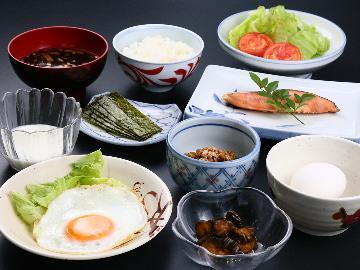 【GoToキャンペーン対象外】朝はしっかり栄養補給◎素朴な和定食をどうぞ♪【1泊朝食のみ】