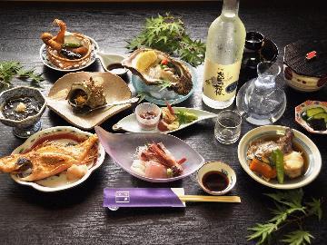 【グレードアップ】ちょっぴり贅沢に旬の幸をいっぱい味わう♪<海の膳コース>1泊夕食付き