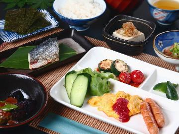 <GoToトラベルキャンペーン割引対象>【朝食付】元気の源は朝食から~天然温泉&地産地消の健康的な朝ごはん!朝食のみプラン