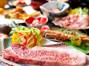 【黒毛和牛ステーキ】高品質でジューシーな黒毛和牛のお肉と女将の手料理を堪能♪