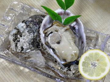 夏が旬!能登の【天然岩牡蠣!】を使用した『ココ』でしか食べられない特別メニュー☆≪1泊2食≫