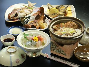 【むろやのスタンダード】朝どれの新鮮な魚を味わうスタンダードプラン★≪1泊2食≫