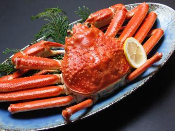 <GoToトラベルキャンペーン割引対象>【茹で蟹1杯付♪】満喫★カニフルコース