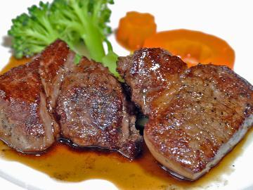 【GoToトラベルキャンペーン割引対象】【グレードアップ】お肉大好き!ヒレステーキ増量!フレンチコースプラン[特典・6種の無料貸切天然