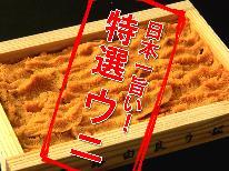 <GoToトラベルキャンペーン割引対象>日本一旨い!由良港の特選ウニを旬の海鮮会席でご堪能♪1泊2食付