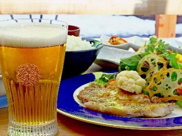 【1泊2食付】お夕食は「いなか茶屋 山彩」でどうぞ♪定食とお飲み物のお得なセット券付!!