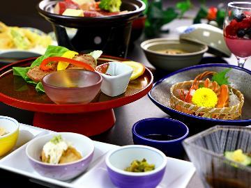 <GoToトラベルキャンペーン割引対象>【定番】当館のスタンダード料理コースをご堪能♪