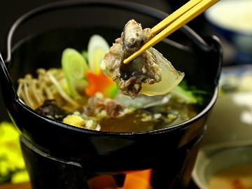 【最強グルメ】人気のすっぽん鍋コラーゲンで『お肌ツルツル』[1泊2食付]