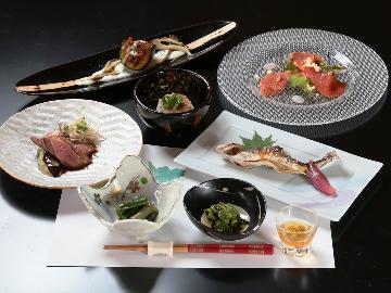 【1泊2食付】旬の地元の食材を使ってつくる<和食×イタリアン>の技を♪心を込めた創作料理に舌鼓!