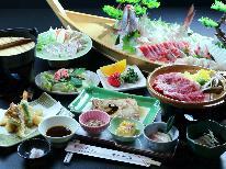 【GoToトラベルキャンペーン割引対象】【グレードアップ】海鮮料理×知多牛ステーキ付★美味しさは太鼓判です! 【お食事は個室食】
