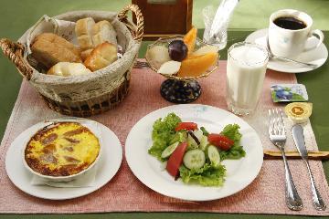 B&B:朝食付きプラン