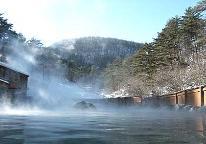 【草津温泉堪能】 西の河原露天風呂・大滝の湯入浴チケット付。湯巡りプラン