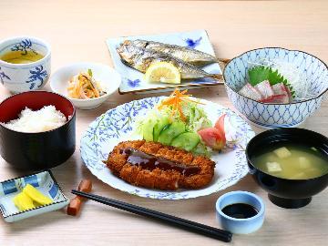 【2食付グレードアップ】ちょっと贅沢に自慢の夕食を召し上がれ♪新鮮刺身が付いた2食付きプラン