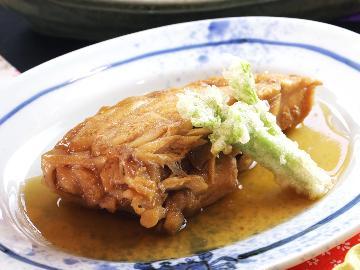【地元名物】旬の創作料理と地元名物メカジキのハーモニカをメインに食す・・・【1泊2食】