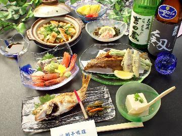 【65歳以上★期間限定】シニア特典♪石川県ならでは、珈琲と和菓子のサービス【旬の海鮮1泊2食】