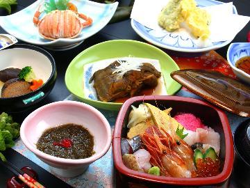 【夏休み応援】≪佐渡のお宝海鮮丼≫鮮度抜群のお魚たっぷり!家族みんなで日本海の幸食べよ♪お子様歓迎★
