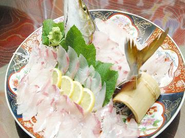 【篠島名物♪】旨みたっぷり篠島の鯛をさっぱり上品に☆鯛しゃぶと人気No.1海鮮コース≪1泊2食付≫
