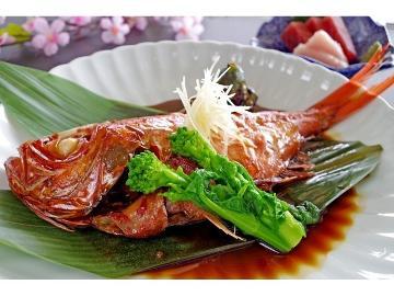 <GoToトラベルキャンペーン割引対象>【1泊2食】定番!金目鯛と言ったら姿煮でスタンダードプラン《WEB予約限定料金》