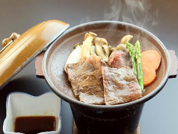 【2食付き/スタンダードプラン】地元食材を使った手作り料理や遠州夢咲牛陶板焼きなどが楽しめる♪