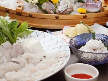 ≪夏季限定≫【黄金出汁】で食べるハモちりコースプラン[1泊2食付]