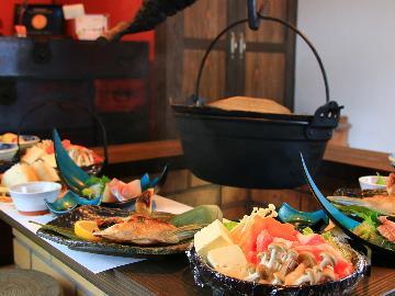 スタンダード2食付き◎地元食材を手作り郷土料理で♪地元づくしのおもてなしプラン