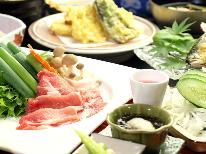 【季節の創作会席】老舗宿で料理&源泉かけ流しの天然温泉を満喫
