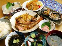 【某番組でも紹介☆】朝獲れの新鮮魚介!寺下食堂定番の寺下定食を味わう♪[1泊2食付]