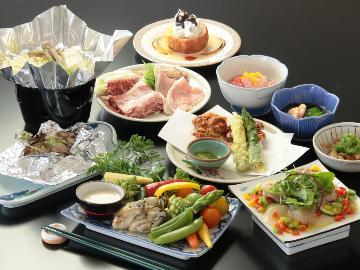 【スタンダード】旬の食材を活かした日替わりメニュー2食付