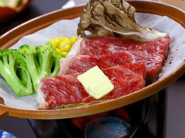 【グレードアップ】上州牛の陶板焼き&尾瀬 片品産の食材を堪能♪群馬の銘産牛を味わう~